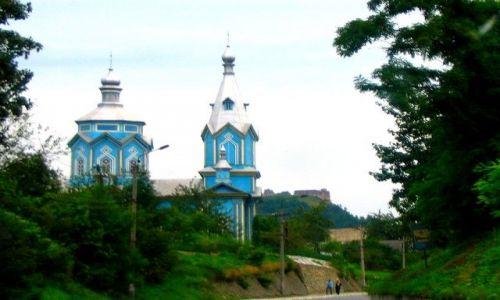 Zdjęcie UKRAINA / Tarnopolski / Poczajów / ulubiony kolor Ukrainy