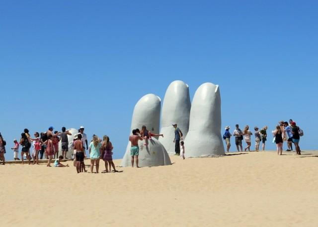 Zdjęcia: Punta del Este, Maldonado, Los Dedos 2, URUGWAJ