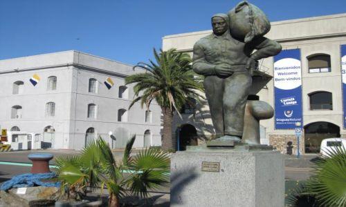 Zdjęcie URUGWAJ / -Urugwaj / Montewideo / Pomnik tragarza