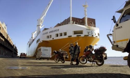 URUGWAJ / Montevideo / Montevideo / Rejs przez Atlantyk