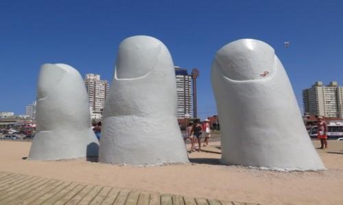 URUGWAJ / Maldonado / Punta del Este / Los Dedos 1