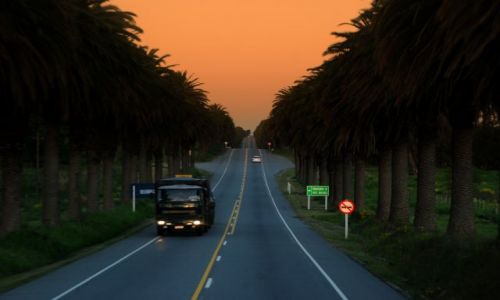 Zdjęcie URUGWAJ / Montevideo  / Montevideo  / droga do Montevideo