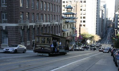 URUGWAJ / California / San Francisco / Tram
