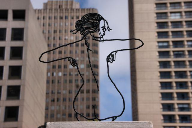 Zdjęcia: San Francisco, California, Sztuka w wielkim mieście, USA
