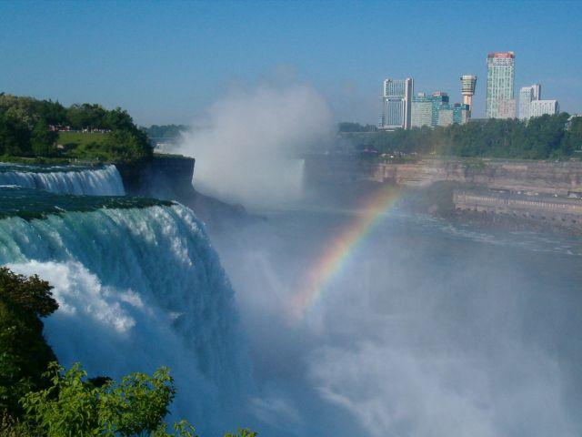 Zdj�cia: Niagara , USA granica z Kanada, Potega natury, USA