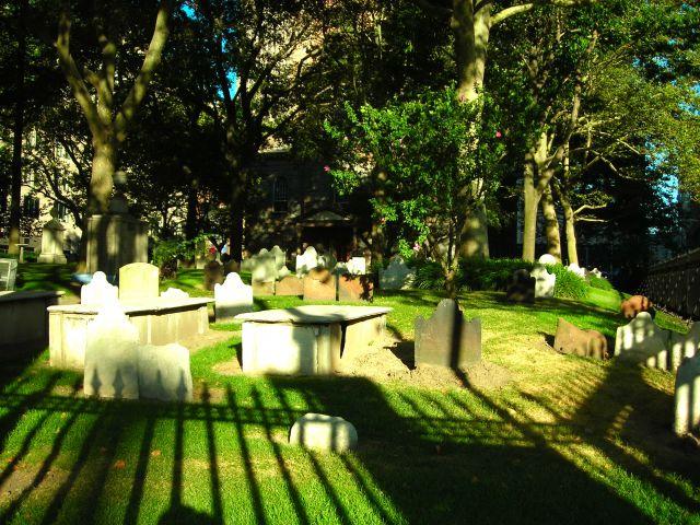 Zdjęcia: okolica WTC, NYC, Graveyard, USA
