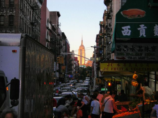 Zdj�cia: Chinatown, NYC, Inna perspektywa, USA