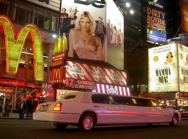 Zdjęcia: Nowy Jork, NY, Mc Limuzyna, USA