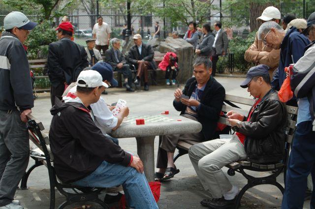 Zdjęcia: New York, Ameryka Północna, Czas płynie powoli w Chinatown, USA