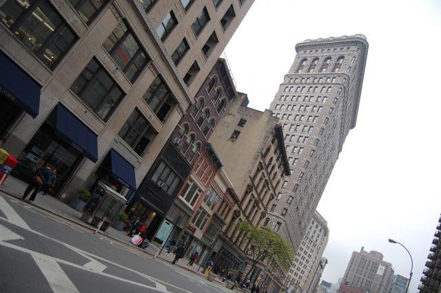Zdjęcia: New York Manhattan, Ameryka Północna, Flatironbuiding, USA