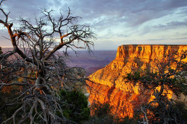 """Zdjęcia: Grand Canyon, Arizona, kolory """"zachodu"""", USA"""