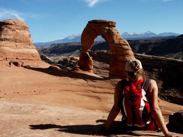 Zdjęcia: utah, arches national park, przerwa na , USA