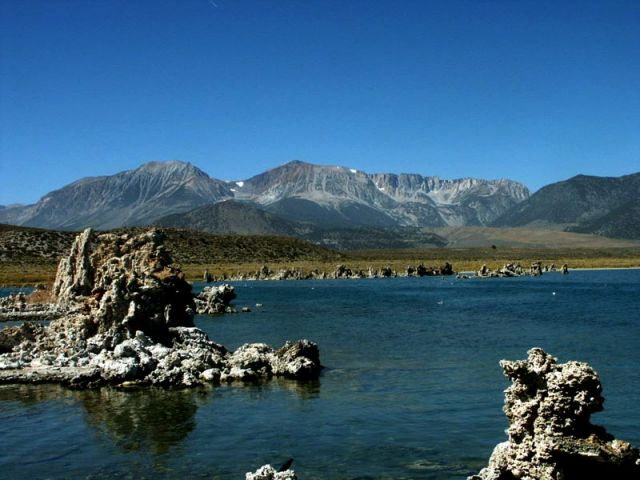 Zdjęcia: mono lake, na wschod od yosemite, mono lake and tioga pass, USA