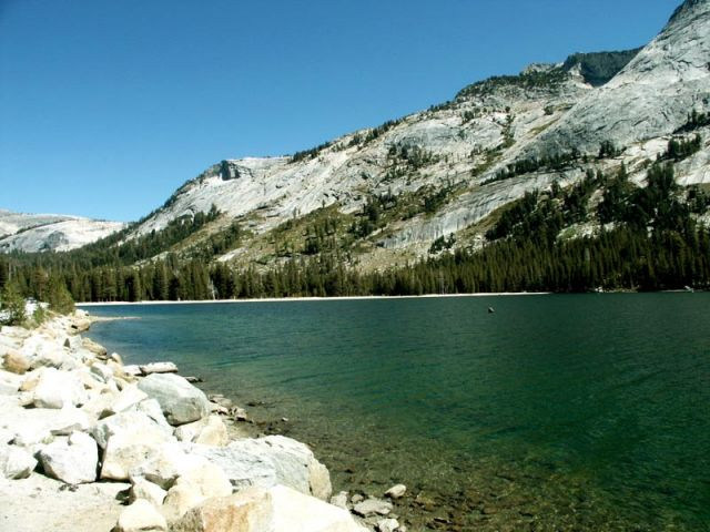 Zdjęcia: yosemite np - tioga pass, california, Tenaya Lake, USA
