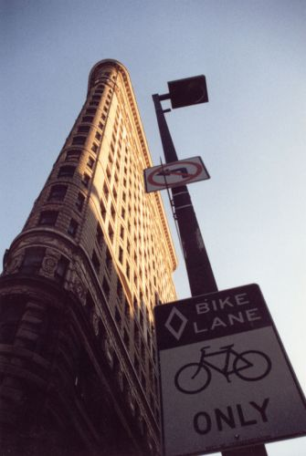Zdjęcia: flatiron building, nyc, bikes only, USA