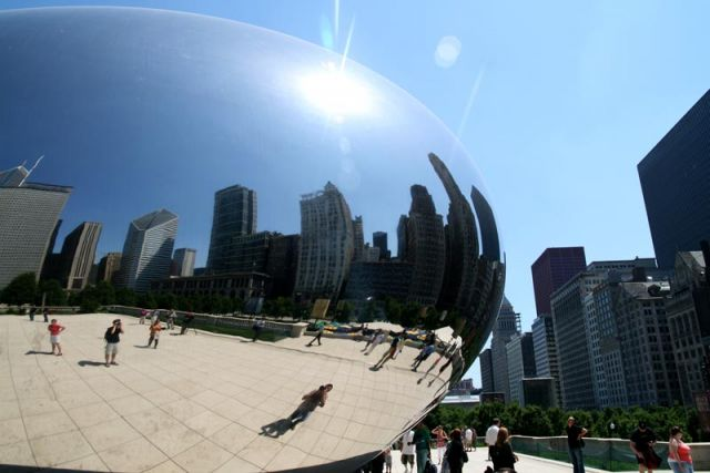 Zdjęcia: millenium park, chicago, cloud gate, USA