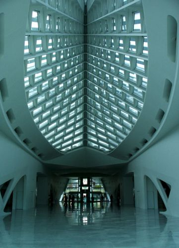 Zdjęcia: centrum, milwaukee, milwaukee art museum, USA