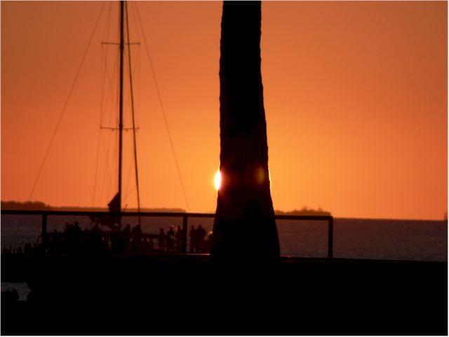 Zdj�cia: Key West, Floryda, Zach�d s�o�ca, USA