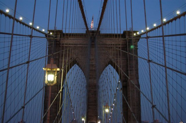 Zdjęcia: Nowy York, Brooklyn Bridge, USA