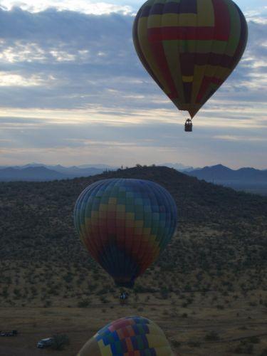 Zdjęcia: Arizona, balony, USA