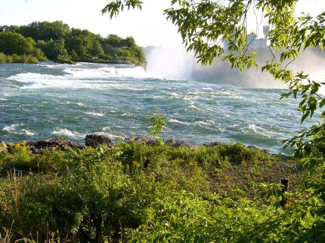 Zdj�cia: Niagra falls, Stan Nowy York, wrz�ca rzeka, USA