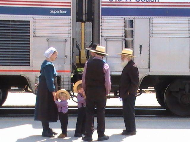 Zdjęcia: Albuquerque, Nowy Meksyk, Rodzina Amiszy, USA