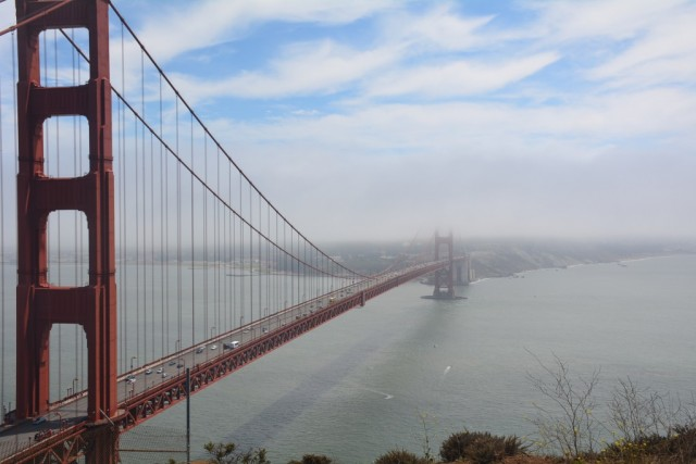 Zdjęcia: San Francisco, Kalifornia, Golden Gate Bridge, USA