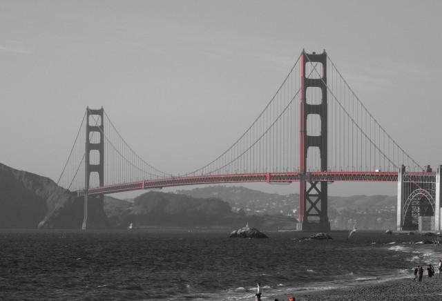 Zdjęcia: San Francisco, Kalifornia, Golden Gate, USA