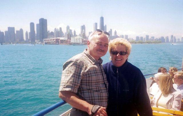 Zdjęcia: chicago, illinois, widok na miasto z jeziora, USA