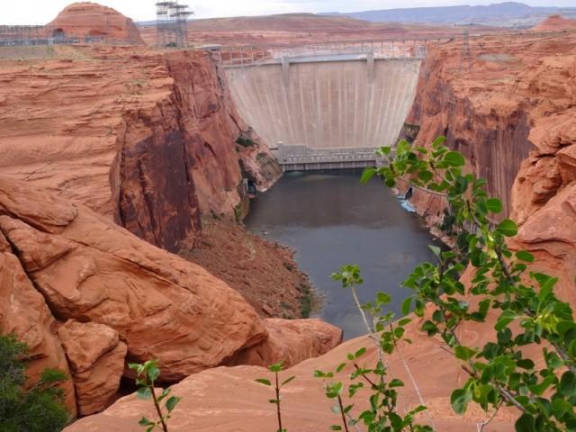 Zdjęcia: Tama na rzecze Kolorado, Arizona, Glen Canyon Dam, USA