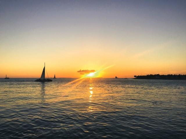 Zdjęcia: Key West, Florida Keys, Zachód słońca Mallory Sq, USA
