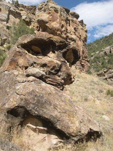 Zdjęcia: Kolorado, Gory Skaliste, gora - czaszka, USA