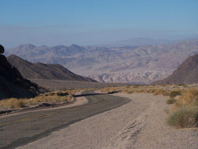 Zdjęcia: Dolina Smierci, Kalifornia, w dole mieszka ZUO, USA