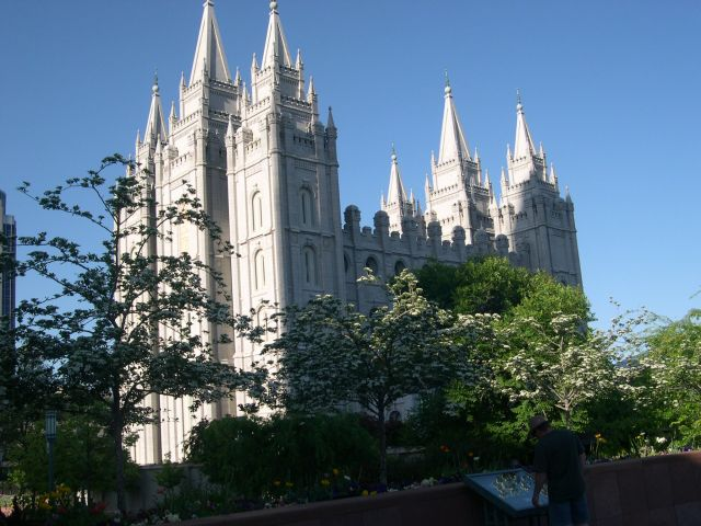 Zdjęcia: Salt Lake City, Utah, katedra mormonska, USA