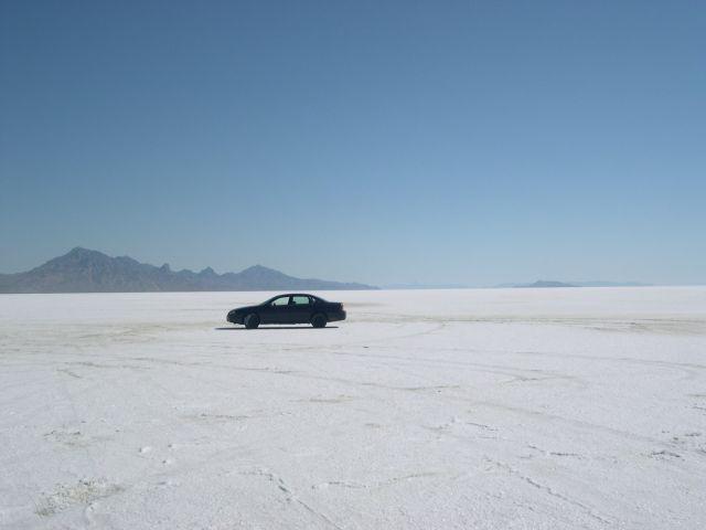 Zdjęcia: Bonneville, Utah, wyschniete slone jezioro , USA