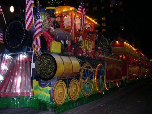 Zdjęcia: Nowy Orlean, Luizjana, karnawal Mardi Gras, USA