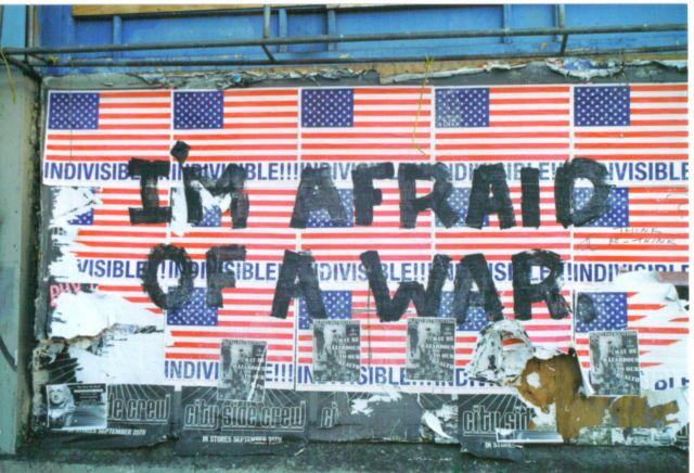 Zdjęcia: San Francisco, California, Kilka dni po 11 wrzesnia 2001, USA
