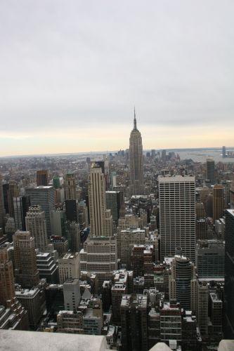 Zdjęcia: NYC, Widok z Rockefeller Center, USA