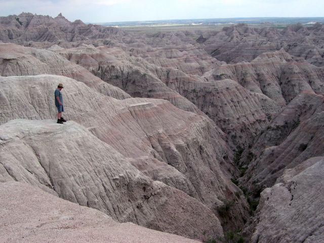 Zdjęcia: Poludniowa Dakota, badlands, USA