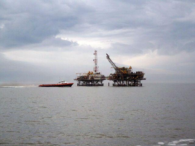 Zdjęcia: Zatoka Meksykanska, platformy wiertnicze, USA