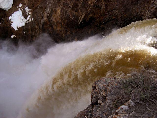 Zdj�cia: Wyoming, wodospad Yellowstone, USA