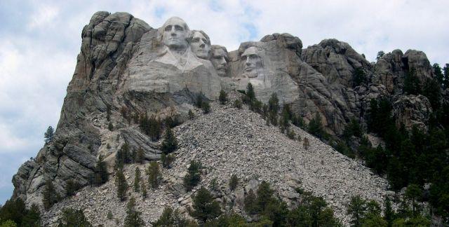 Zdj�cia: Dakota Poludniowa, Mount Rushmore, USA