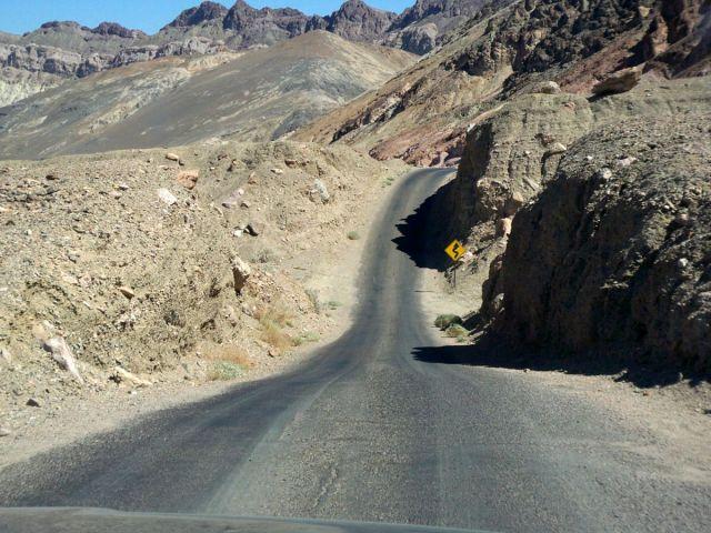Zdjęcia: Kalifornia, jedna z drog w Dolinie Smierci, USA