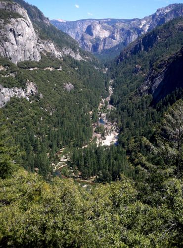 Zdjęcia: Kalifornia, Dolina Yosemite z gory, USA