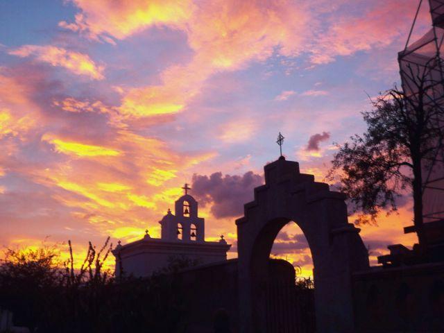 Zdjęcia: Arizona, stara misja hiszpanska, USA