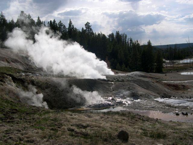 Zdj�cia: Wyoming, czarci zakatek, USA