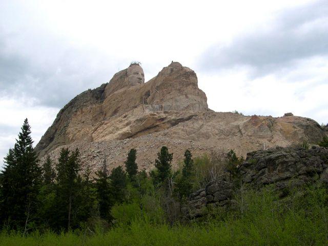 Zdj�cia: Dakota Poludniowa, pomnik Szalonego Konia, USA