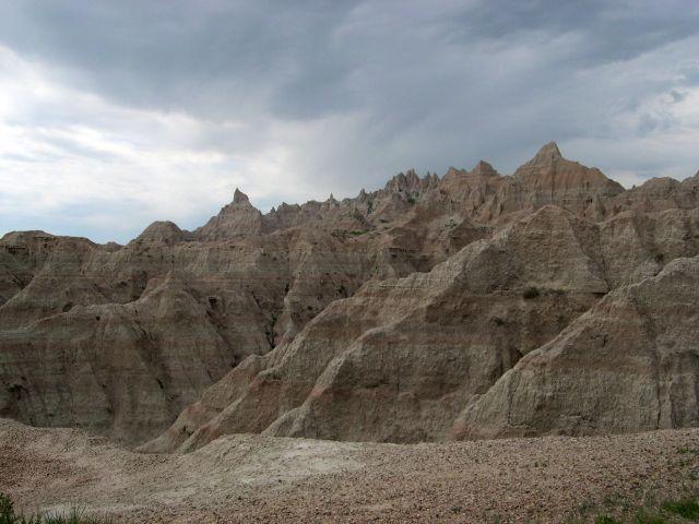 Zdjęcia: Dakota Poludniowa, Badlands 1, USA