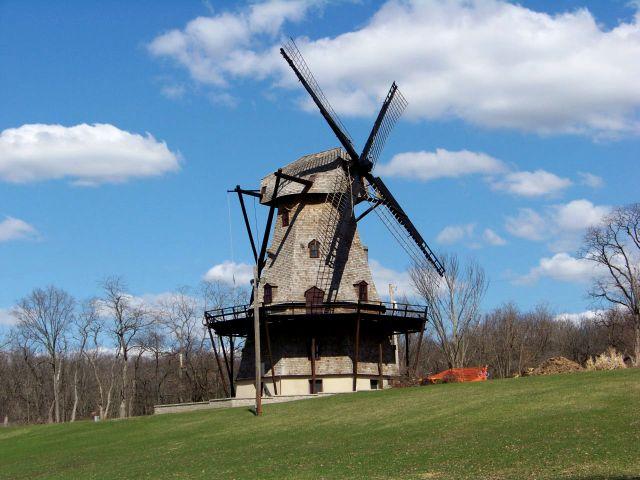 Zdj�cia: Illinois, wiatrak w Batavii, USA