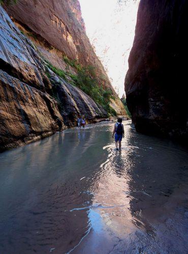 Zdj�cia: Utah, pieszy szlak w Zion, USA